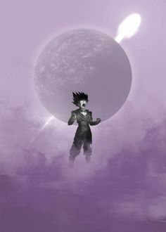 Dragon Ball Gohan - by Raymond Diaz @ Moon Silhouette, Metal Posters, Poster Artwork, Anime Dragon Ball, Gohan, Artwork, Piet, Anime, Prints