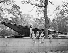 The Catalano House, Raleigh, North Carolina, Eduardo Catalano, 1954. Ph. Ezra Stoller