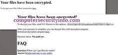 Cypher Ransomware, computer security info, internet security, computer security, cyber security, computersecurityinfo.com