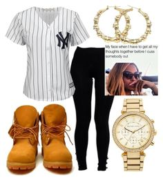 """""""New contest (read d!!)"""" by miyaaonfleek02 ❤ liked on Polyvore featuring MICHAEL Michael Kors, Boohoo and Majestic"""