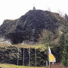 Parkstein Volcano, church and castle ruins in Germany on www.ourpassportpages.com