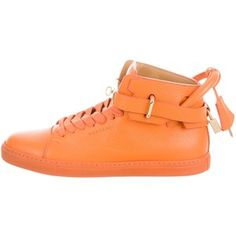 Pre-owned Buscemi 100mm High-Top Sneakers