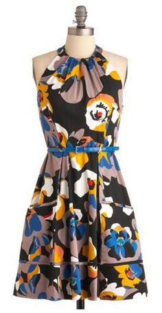 great print dress from ModCloth for $98