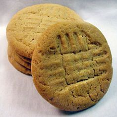 Moist and Chewy Peanut Butter Cookies Recipe on Yummly