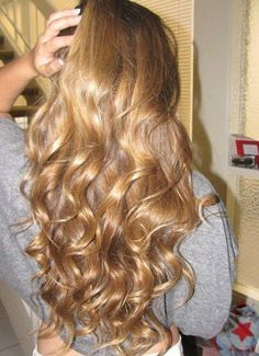 Curls and Long hair