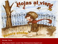 poesias del otoño by Salvia via Slideshare Spanish Lessons, Learning Spanish, Spanish Language, Language Arts, Poetry Center, Dual Language Classroom, Spanish Culture, Spanish Teacher, Blended Learning