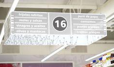Supermarket Signage & Design | Retail Design | Shop Interiors |  Chedraui hypermarket