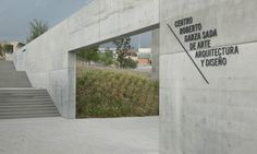 Pentagram developed the wayfinding and environmental graphics for the new Tadao Ando-designed arts center at the Universidad de Monterrey.