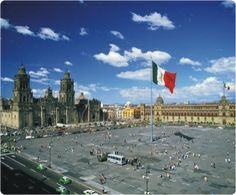 Zocalo (Plaza de la Constitucion) It's a gathering place for Mexicans since Aztec times; the swearing in of viceroys, royal proclamations, military parades, Independence ceremonies and modern religious events such as the festivals of Holy Week.  Ahhh <3