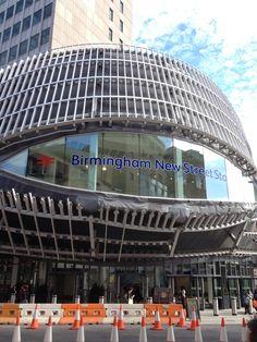 Birmingham New Street Railway Station (BHM) in Birmingham, West Midlands