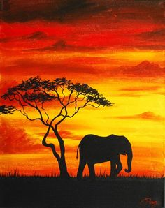 African Elephant Painting - African Elephant by Emily Page art painting African Elephant by Emily Page Elephant Sketch, Elephant Art, African Elephant, Elephant Illustration, Elephant Tattoos, Elephant Crafts, Elephant Design, Illustration Art, Elephant Trunk