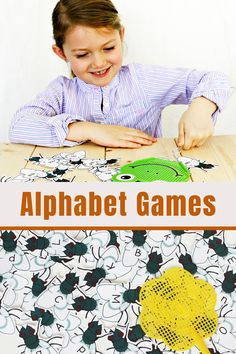 This hands on game for learning the letters and sounds of the alphabet is certain a hit with preschool and kindergarten students! Students swat the letters with a fly swatter and then names the letter and provides the letter sound! Super fun for literacy centers or small group instruction