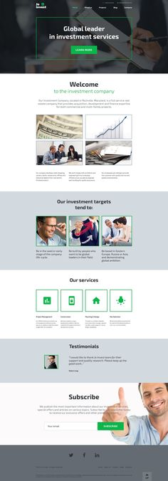 Jo Invest - WordPress Template