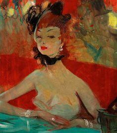 Painter Jean-Gabriel Domergue
