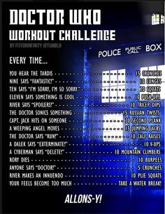 Doctor Who Workout!