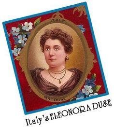 ELEONORA GUILIA AMALIA DUSE , Italian actress (1858 - 1924)