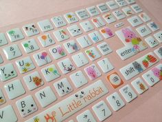 Happy rabbit Keyboard little rabbit sticker by StickersKingdom