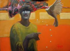 Art and Painting by Cathy Hegman: Remembering Peace in Stages Part 2