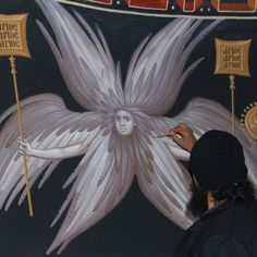 The Six-Winged Seraph Whispers of an Immortalist: Icons of the Holy Angels 1