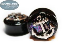 Alice In Iridescent Land Sparkle Fake Plugs    by GlitzGauge