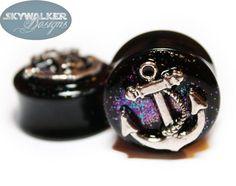 Alice In Iridescent Land Sparkle Fake Plugs    by GlitzGauge
