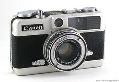 """1966. Canon Demi EE17. Voyez plus de détails sur """"Collection d'appareils""""."""