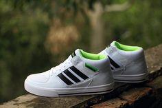 premium selection 63335 d1c73 nuevo Adidas NEO SKNEO Grinder Leisure Blanco Negro Verde hombres F38556 Adidas  Neo,