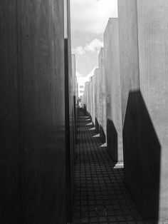 Long shadows, Memorial to the Murdered Jews of Europe, Berlin