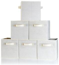Dual Handle Storage Cubes - Set of 6 Storage Bins for Cub... https://www.amazon.com/dp/B0197GFDL8/ref=cm_sw_r_pi_dp_Z1Zxxb1EYDT28