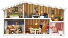 Swedish doll house