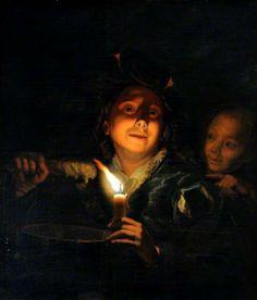 Children Melting Wax, after Godfried Schalcken 1643–1706 Nationality: Dutch