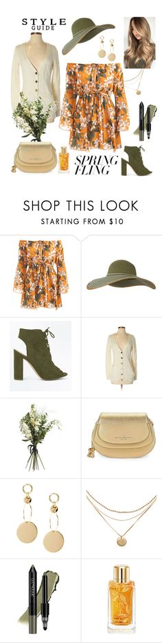 """My favorite spring dress"" by maya1705 ❤ liked on Polyvore featuring Keds, New Look, Gap, Wyld Home, Donna Karan, trèStiQue, Lancôme and springdresses"