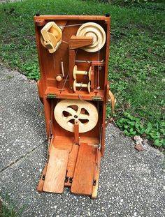 I am selling my handcrafted Journey Wheel double treadle spinning wheel dated October 2005. This wheel has been a beautiful, portable, very...