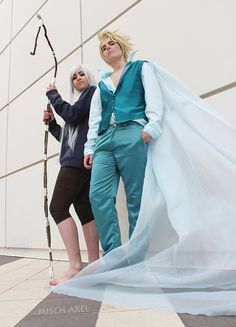 Frozen : Elias and Jackie Frost cosplay by MischievousBoyAilime.deviantart.com on @deviantART