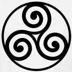 L'Ultima Thule: La concezione celtica del tempo e il suo simbolismo Gaelic Tattoo, Norse Tattoo, Triquetra, Gaara, Sasuke, Irish Celtic, Celtic Art, Zentangle, Delicate Tattoo