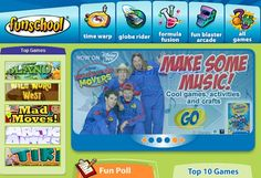 A wide variety of games as well, printables, videos, and interactives.