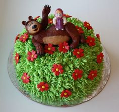 Cake Masha and the Bear