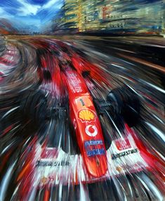 Andrea del Pesco - Ferrari, Schumacher