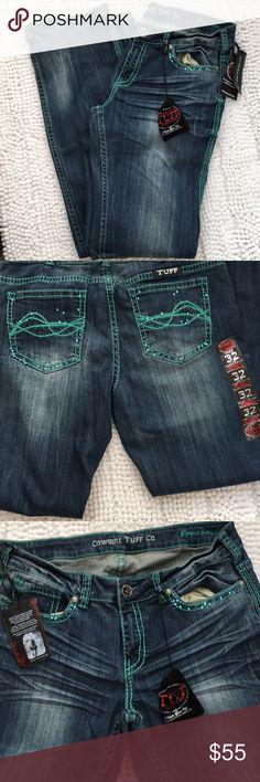 Cowgirl tuff jeans Beautiful NWT jeans cowgirl tuff Pants