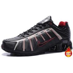 www.asneakers4u.com Mens Nike Shox NZ 3 OLeven Black Red White Style Fashion a6634d44a583