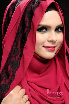 Lace Shawl in Maroon  Price: $29 Any 2 for $50  Measurement Appr: 180cm x 75cm)  Material : Chiffon Georgette (Good Quality)