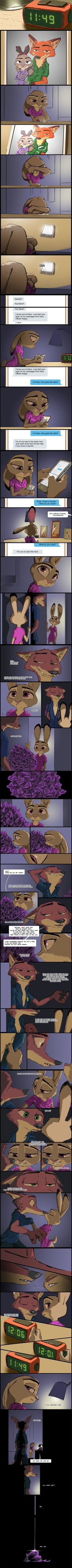 Zootopia: Purple Tulips (2/2) by TheWyvernsWeaver