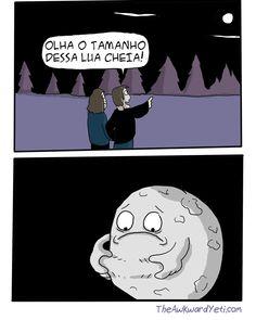 Lua cheia.