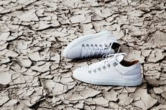 "Amsterdam-based footwear label, Filling Pieces, presents a brand new, all-white version of its Mountain Cut Trainer. A successor of sorts to last year's ""Black Friday"" release, the new drop pairs a vu..."