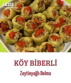 Köy Biberli Zeytinyağlı Dolma