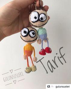 Most Healthy Toy Amigurumi - Amigurumi Free Pattern Baby Knitting Patterns, Amigurumi Patterns, Crochet Patterns, Crochet Girls, Crochet Toys, Free Crochet, Crochet Basics, Stuffed Toys Patterns, Crochet Projects