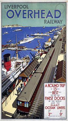 Liverpool, history, liverpool-history-l1-overhead-railway-and-docks-1920