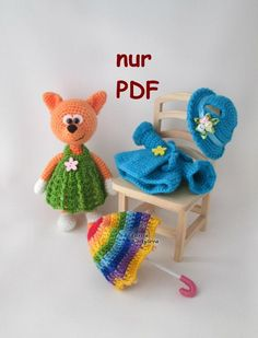 (4) Name: 'Crocheting : Fuchs