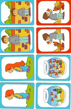 Objected (Busqueda Wilmalorena) - Annacaro Todo Inglés - Picasa Web Albums Sequencing Cards, Story Sequencing, Sequencing Activities, Preschool Worksheets, Infant Activities, Opposites Preschool, Body Parts Preschool, Educational Games, Speech And Language