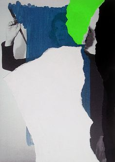 Papel de carta #10, 2013. Isabel Lucena  on top of Helena Almeida, Para um enriquecimento interior detail.